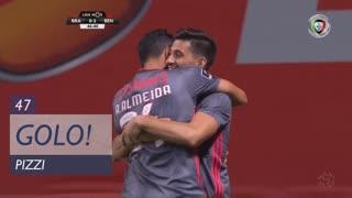 GOLO! SL Benfica, Pizzi aos 47', SC Braga 0-2 SL Benfica