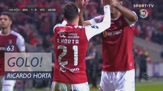 GOLO! SC Braga, Ricardo Horta aos 63', SC Braga 1-0 Vitória FC