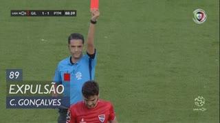 Gil Vicente FC, Expulsão, C. Gonçalves aos 89'