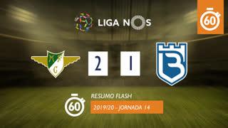 I Liga (14ªJ): Resumo Flash Moreirense FC 2-1 Belenenses