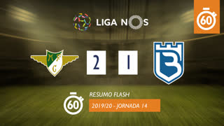 Liga NOS (14ªJ): Resumo Flash Moreirense FC 2-1 Belenenses SAD