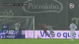 Gil Vicente FC, Caso, Z. Naidji aos 41'