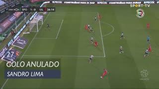 Gil Vicente FC, Golo Anulado, Sandro Lima aos 27'