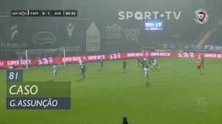 FC Famalicão, Caso, Gustavo Assunção aos 81'