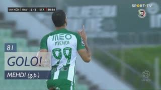 GOLO! Rio Ave FC, Mehdi aos 81', Rio Ave FC 2-2 Santa Clara