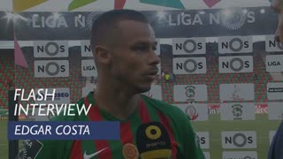 Liga (1ª): Flash Interview Edgar Costa