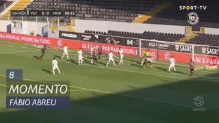 Moreirense FC, Jogada, Fábio Abreu aos 8'