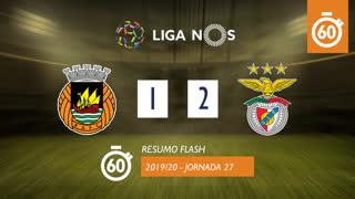 I Liga (27ªJ): Resumo Flash Rio Ave FC 1-2 SL Benfica