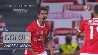 GOLO! SL Benfica, André Almeida aos 13', SL Benfica 1-0 Boavista FC