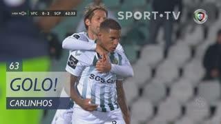 GOLO! Vitória FC, Carlinhos aos 63', Vitória FC 1-2 Sporting CP