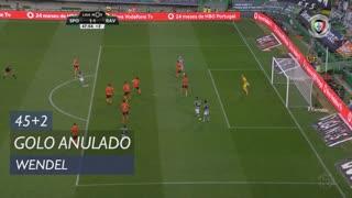 Sporting CP, Golo Anulado, Wendel aos 45'+2'
