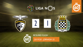 Liga NOS (32ªJ): Resumo Flash Portimonense 2-1 Boavista FC
