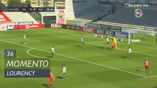 Gil Vicente FC, Jogada, Lourency aos 36'