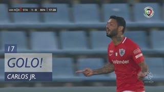 GOLO! Santa Clara, Carlos Jr. aos 17', Santa Clara 1-0 SL Benfica