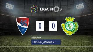 Liga NOS (4ªJ): Resumo Gil Vicente FC 0-0 Vitória FC
