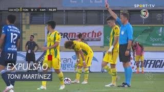 FC Famalicão, Expulsão, Toni Martínez aos 71'