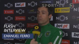 Liga (20ª): Flash Interview Emanuel Ferro