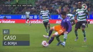 Sporting CP, Caso, C. Borja aos 61'
