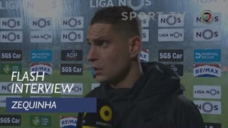 Liga (19ª): Flash Interview Zequinha