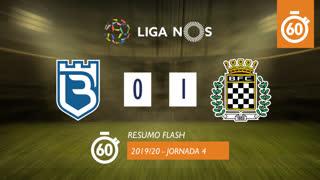 Liga NOS (4ªJ): Resumo Flash Belenenses 0-1 Boavista FC