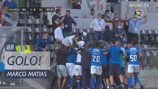 GOLO! Belenenses SAD, Marco Matias aos 88', Belenenses SAD 1-0 Gil Vicente FC