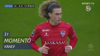 Gil Vicente FC, Jogada, Kraev aos 31'