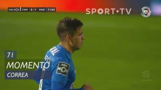 Marítimo M., Jogada, Correa aos 71'