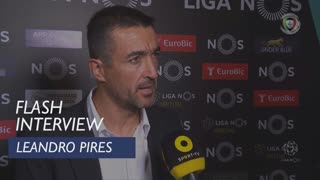 Liga (10ª): Flash Interview Leandro Pires
