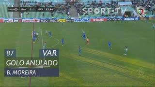 Rio Ave FC, Golo Anulado, Bruno Moreira aos 87'
