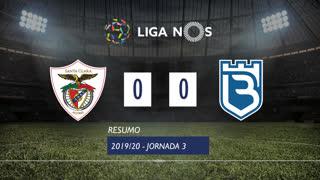 Liga NOS (3ªJ): Resumo Santa Clara 0-0 Belenenses