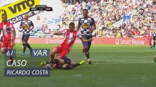 Boavista FC, Caso, Ricardo Costa aos 61'