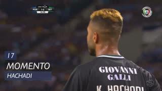 Vitória FC, Jogada, Hachadi aos 17'