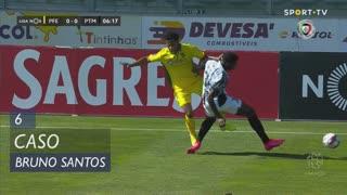 FC P.Ferreira, Caso, Bruno Santos aos 6'