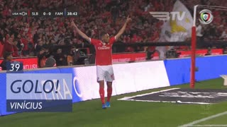 GOLO! SL Benfica, Vinícius aos 39', SL Benfica 1-0 FC Famalicão