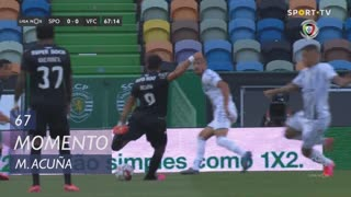Sporting CP, Jogada, M. Acuña aos 67'