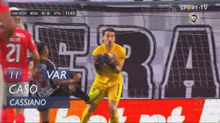 Boavista FC, Caso, Cassiano aos 11'