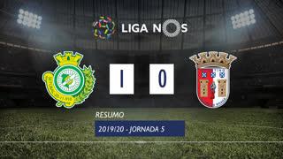 Liga NOS (5ªJ): Resumo Vitória FC 1-0 SC Braga