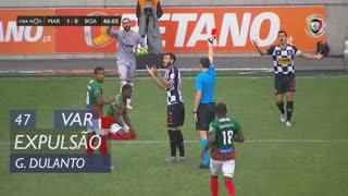 Boavista FC, Expulsão, G. Dulanto aos 47'