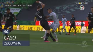 Vitória FC, Caso, Zequinha aos 80'