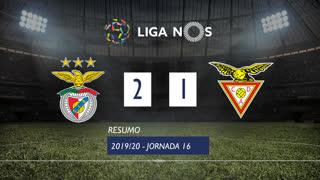 Liga NOS (16ªJ): Resumo SL Benfica 2-1 CD Aves