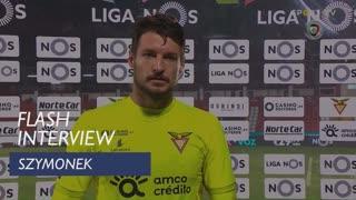 Szymonek eleito homem do jogo frente ao FC Porto