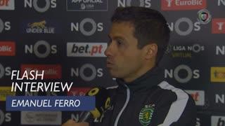 Liga (14ª): Flash Interview Emanuel Ferro