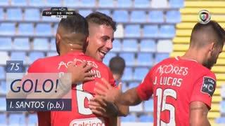 GOLO! Santa Clara, Iago Santos (p.b.) aos 75', Santa Clara 2-0 Moreirense FC