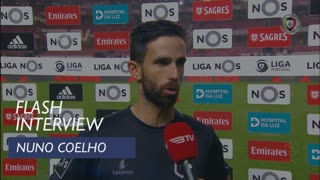Liga (19ª): Flash Interview Nuno Coelho