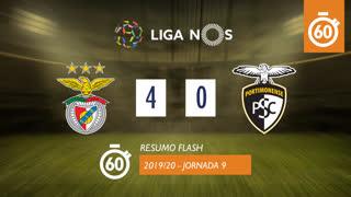 I Liga (9ªJ): Resumo Flash SL Benfica 4-0 Portimonense