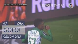 GOLO! Rio Ave FC, Gelson Dala aos 63', Rio Ave FC 1-2 FC Famalicão
