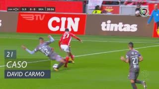 SC Braga, Caso, David Carmo aos 21'