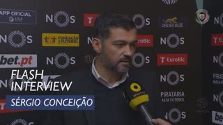 Liga (14ª): Flash Interview Sérgio Conceição