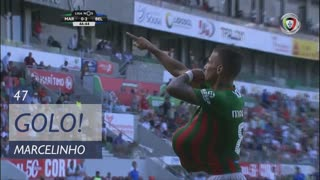 GOLO! Marítimo M., Marcelinho aos 47', Marítimo M. 1-2 Belenenses