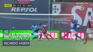 SC Braga, Jogada, Ricardo Horta aos 40'